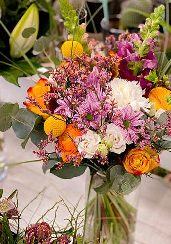Blumensträuße gedecke